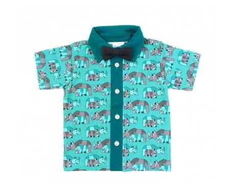 Festliche Hemden-Kurzarm