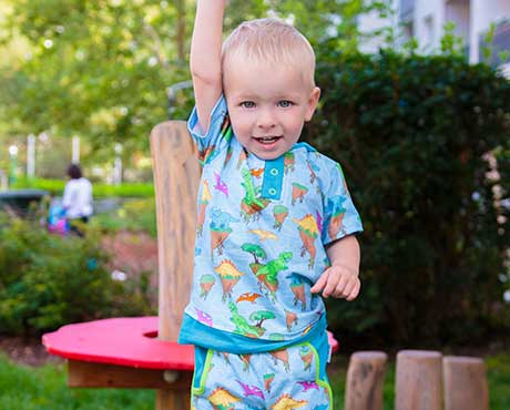 Kurzarm-LittleHeroShirts