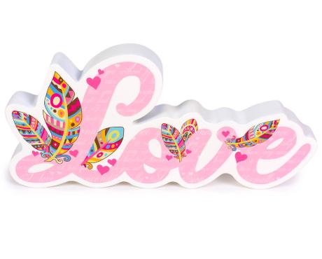 3D-Schriftzüge Love