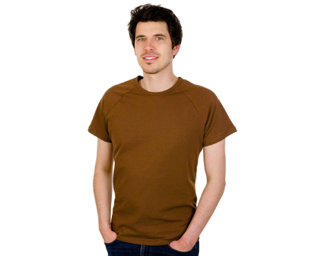 Uni-Raglanshirts kurzarm
