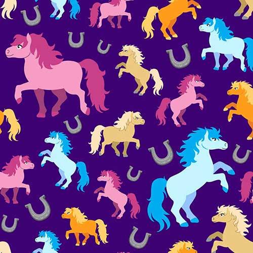 PreciousHorses-Purple