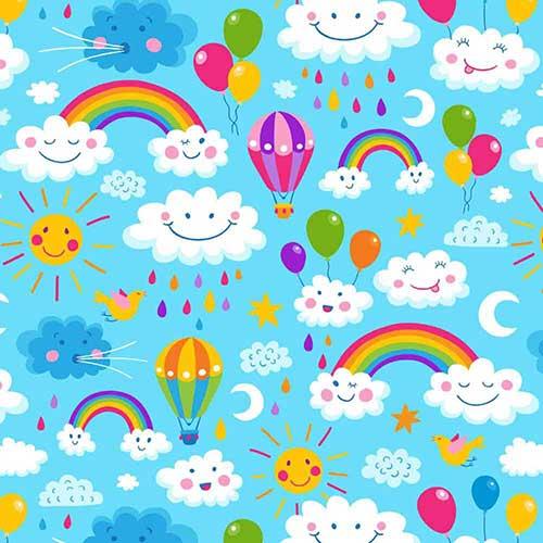 RainbowsAndClouds-Blue