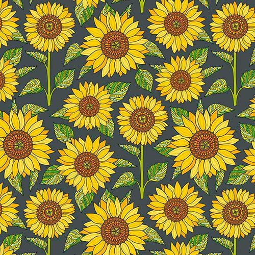 Sunflowers-Green