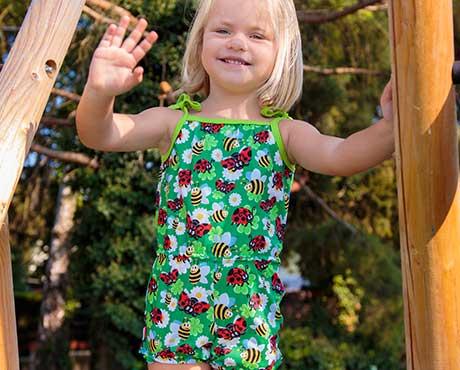 Mädchen-Jumpsuits