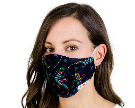Masken mit Gummi