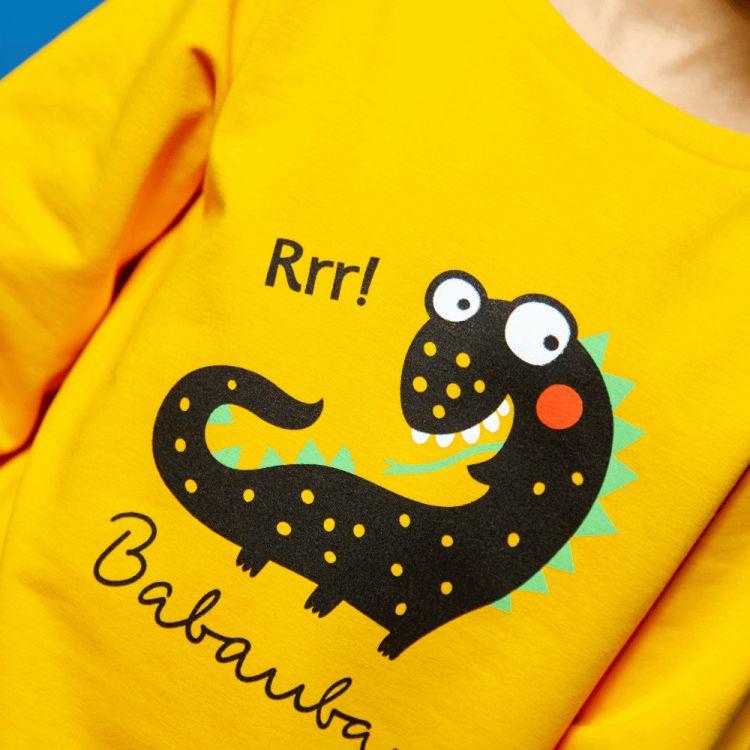 Sweater WorldOfMonsters-Yellow