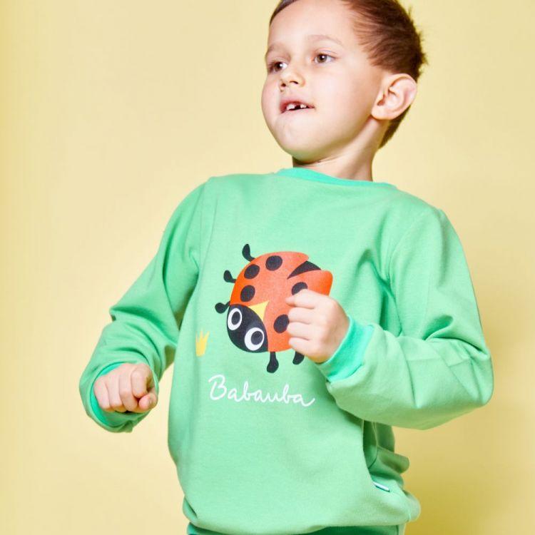 Sweater BugsBugsBugs-Grasgrün