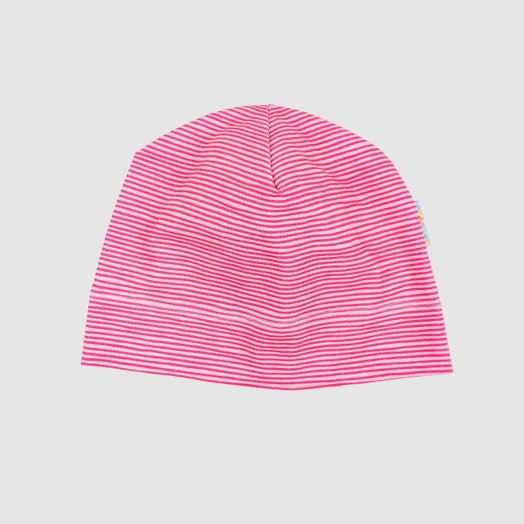 Beanie-ComfyStyle Stripes-Pink