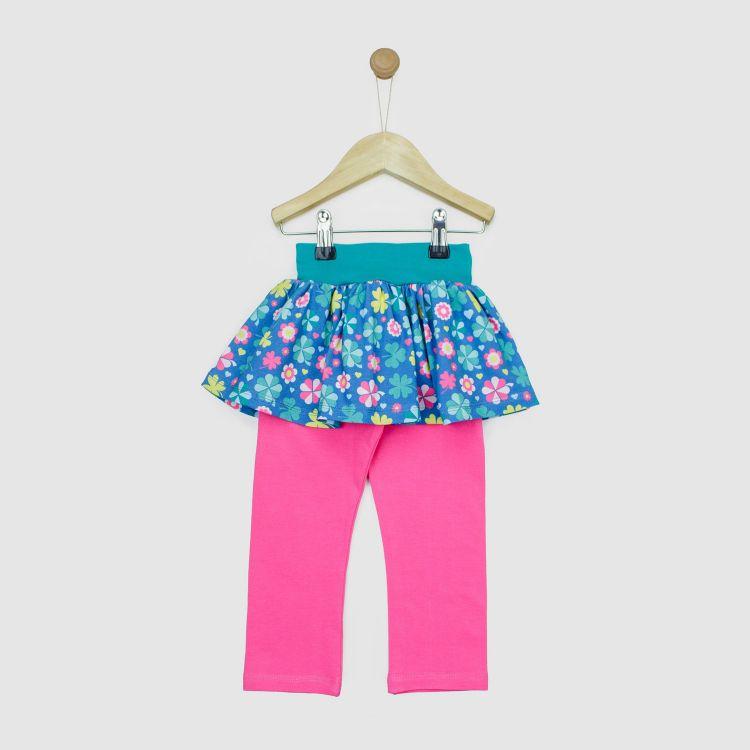 Baby-SkinnyPantsRöckchen lang - ColorfulCloverLeaves