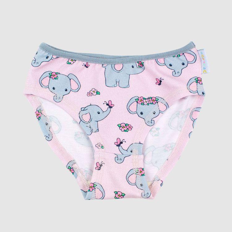 Underpants CuteFlowerElephant