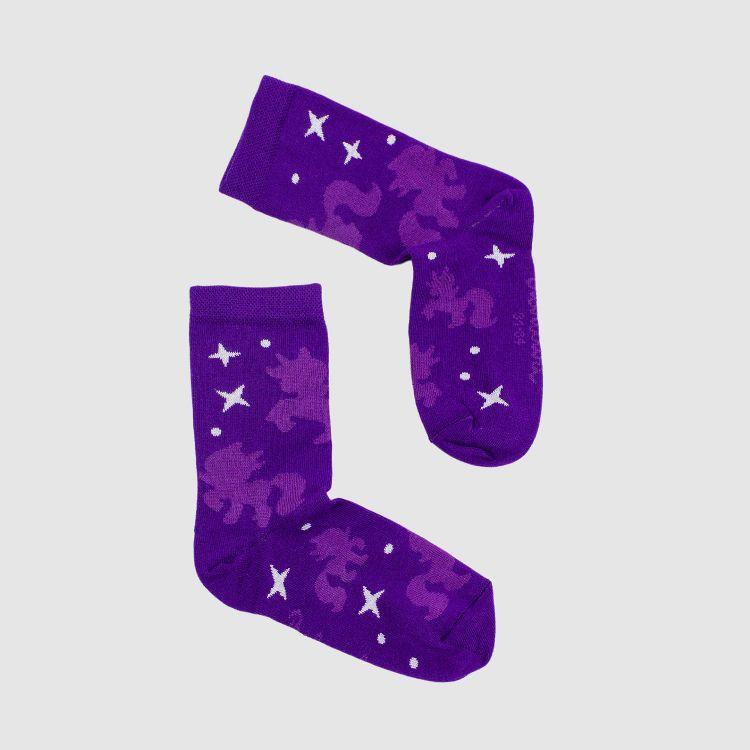 Woman-SockiSocks PurpleUnicorn