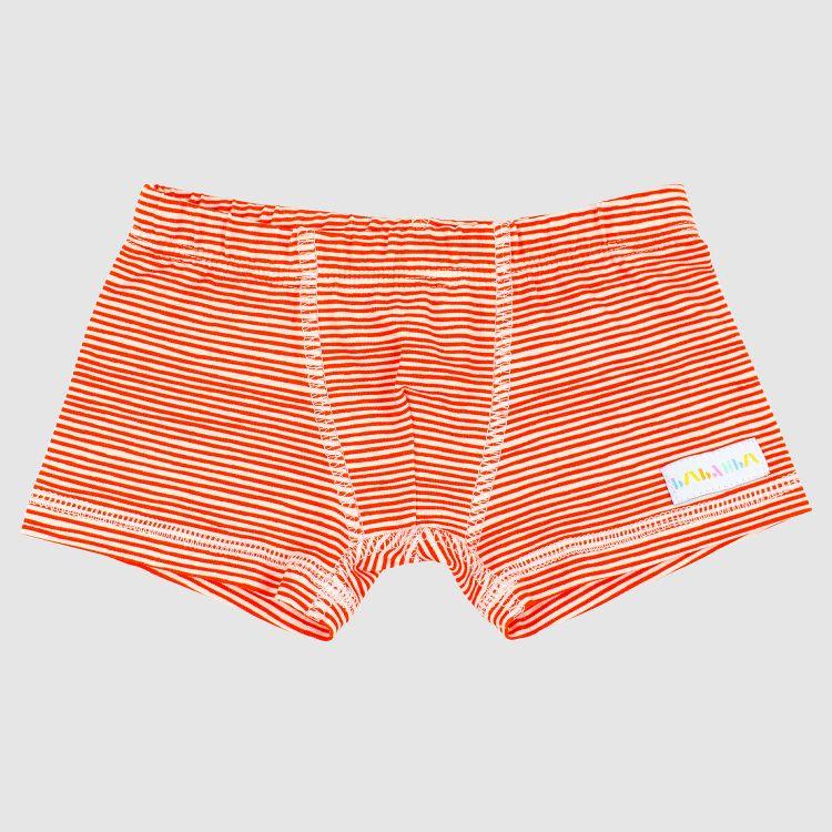 Boxershorts Stripes-RedCream