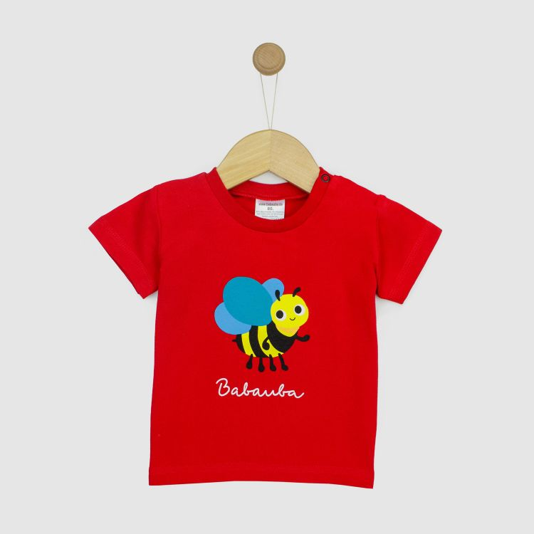Kurzarmshirt Hero BugsBugsBugs-Rot