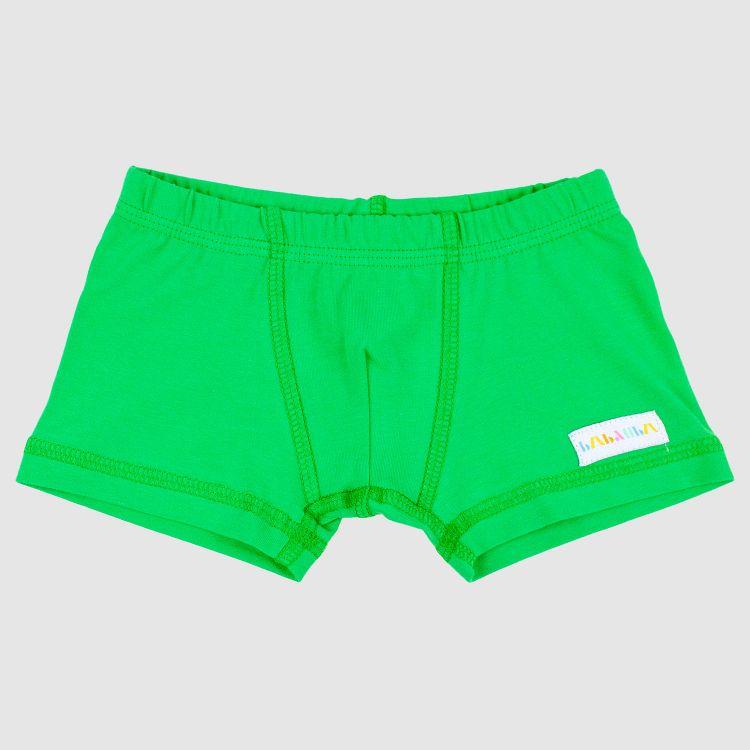 Uni-Boxershort Grasgrün