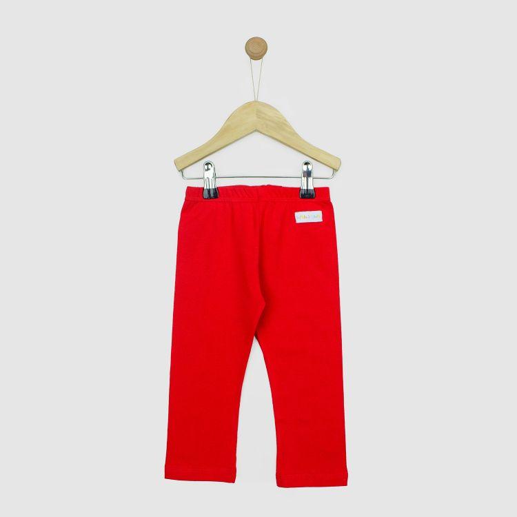 Baby-Uni-SkinnyPants - Rot