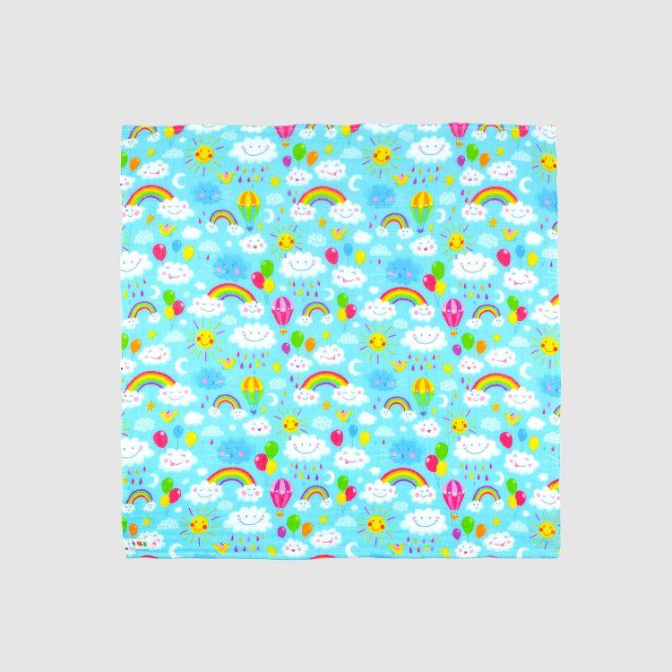 Mullwindel - RainbowsAndClouds-Blue