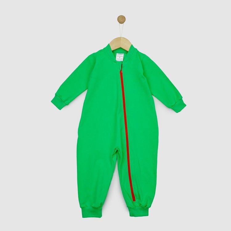 Baby-Uni-Schlafi - Grasgrün