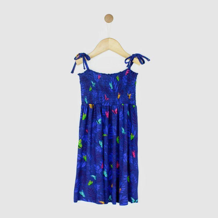 Girlie-Dress DreamyButterflies-Blue