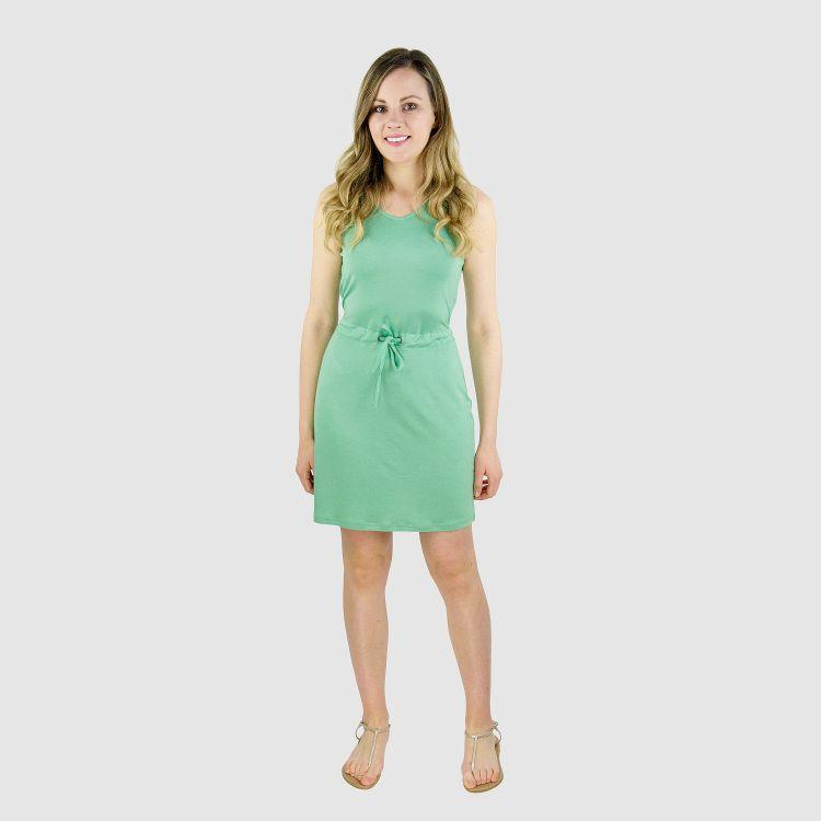 Woman-Dress Lindgrün