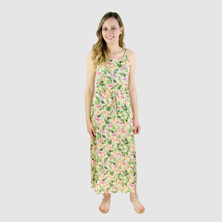 Woman-Long-Dress JungleFlamingo
