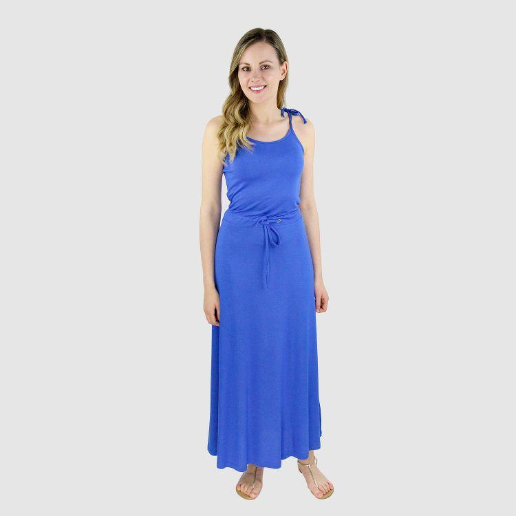 Woman-Long-Dress Königsblau