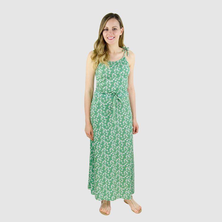 Woman-Long-Dress SummerDaisy
