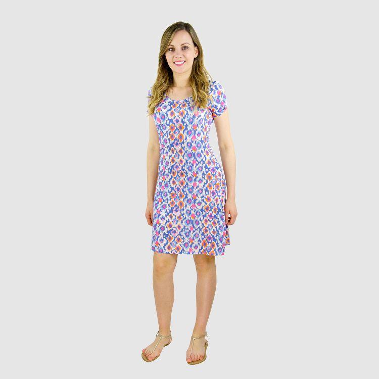 Woman-T-Shirt-Dress - ColorsOfSummer