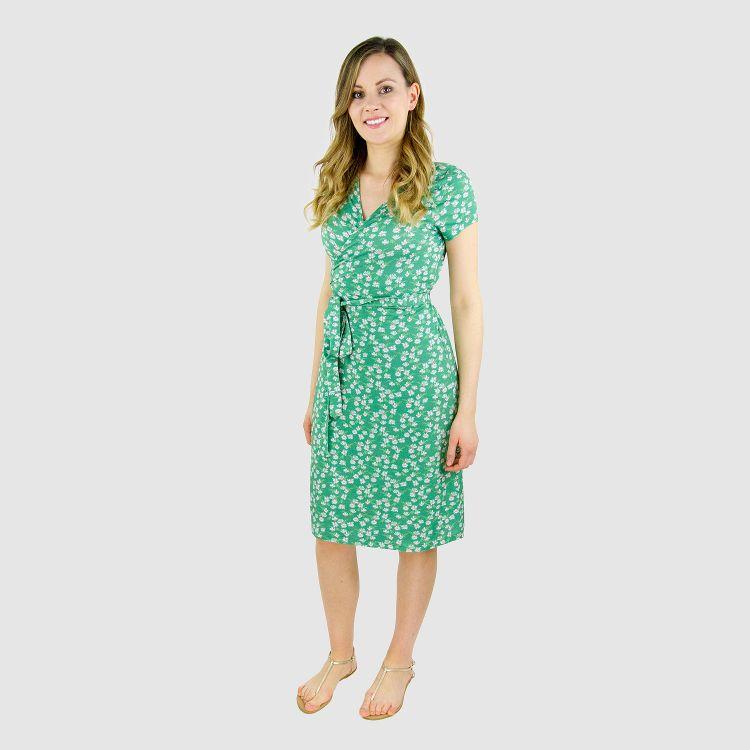 Woman-Wrap-Dress SummerDaisy