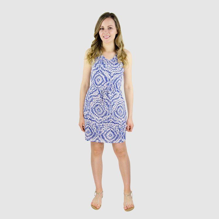 Woman-Dress TieDye-Blue