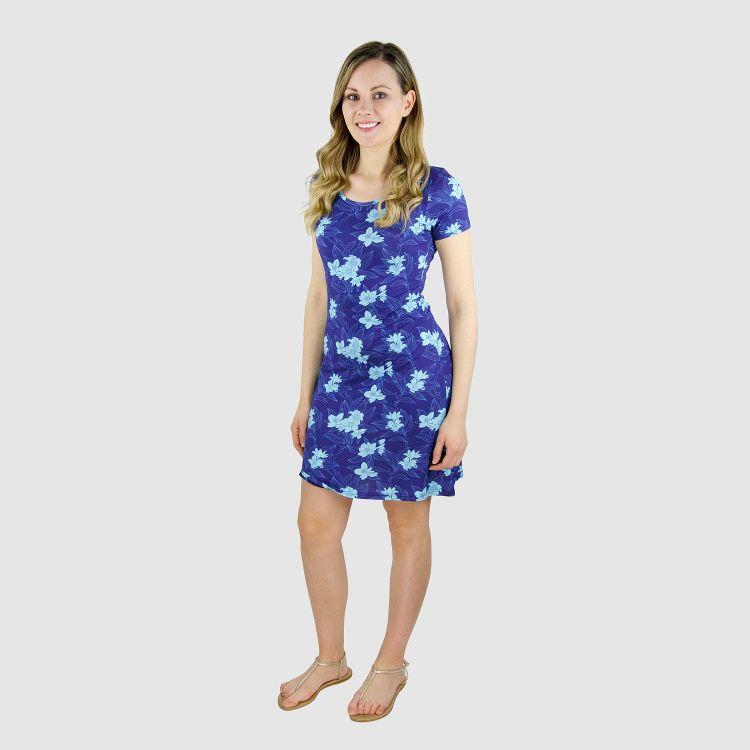 Woman-T-Shirt-Dress NightBloom