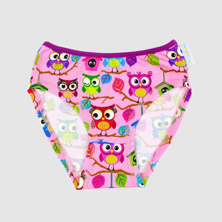 Baby-Underpants - BabaubaHoots-Pink