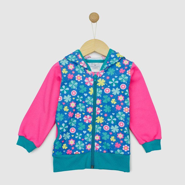 Baby-HoodieH1 - ColorfulCloverLeaves