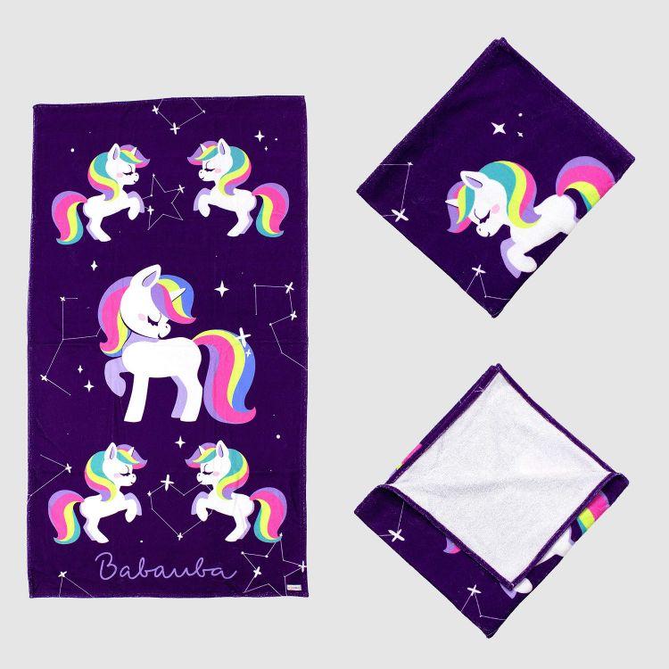 Badetuch GalaxyUnicorns
