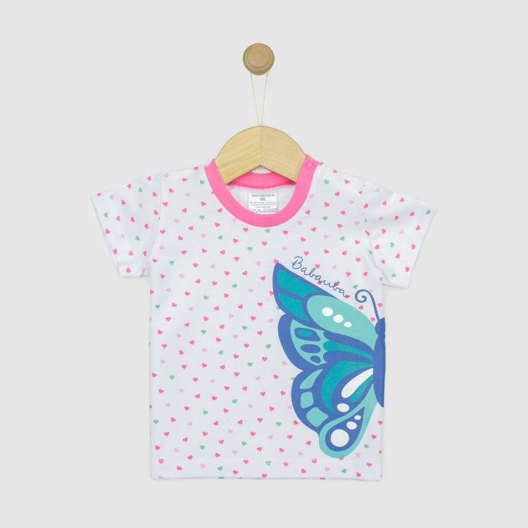 Kids-Motivshirt - ButterfliesAndDaisies-HeartsEdition