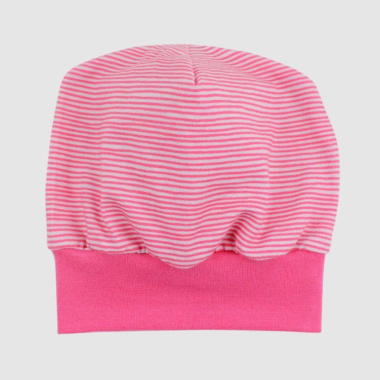 Beanie Stripes-Pink