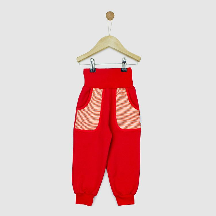 CoolPocketPants Stripes-RedCream-RotEdition