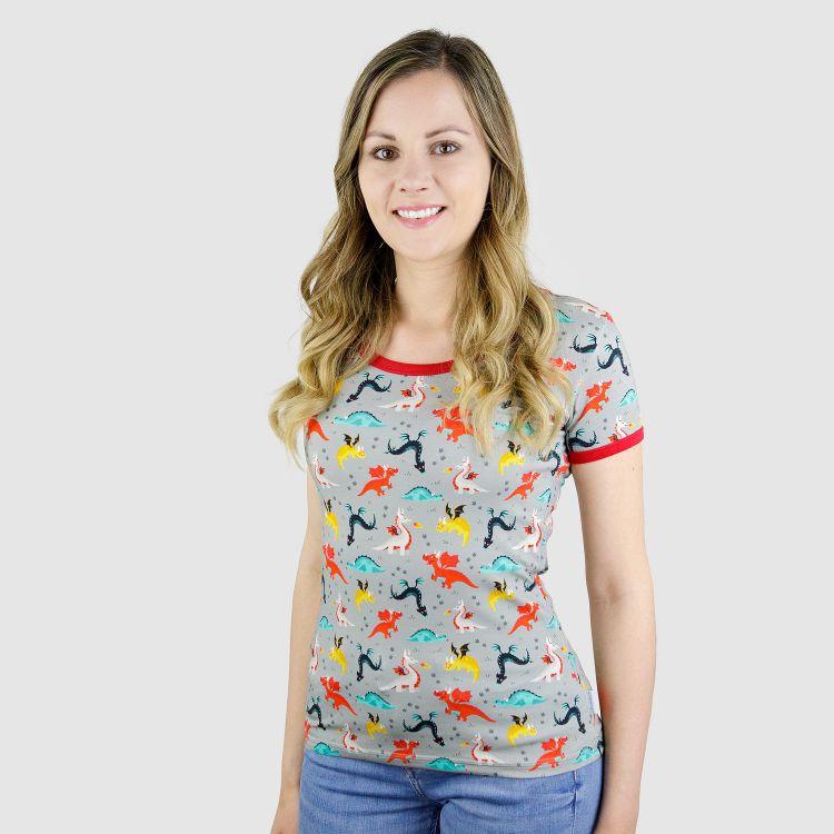 Woman-Shirt DragonFriends S