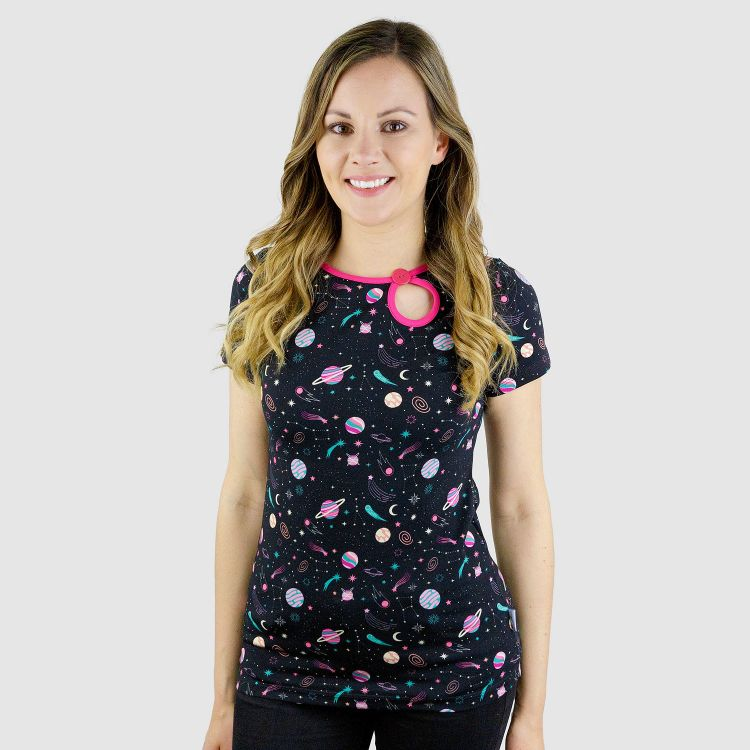 PrettyWomanShirt-Kurzarm SpaceGirl