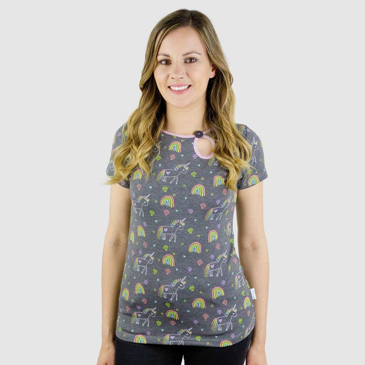 PrettyWomanShirt-Kurzarm UnicornArt