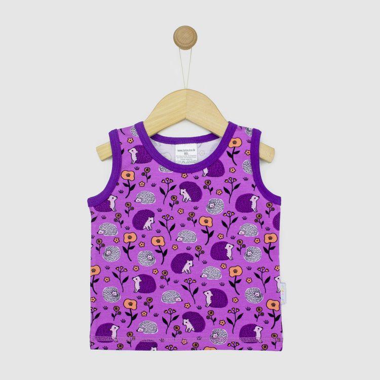 Kids-Tanktop - SweetHedgehogs-Purple