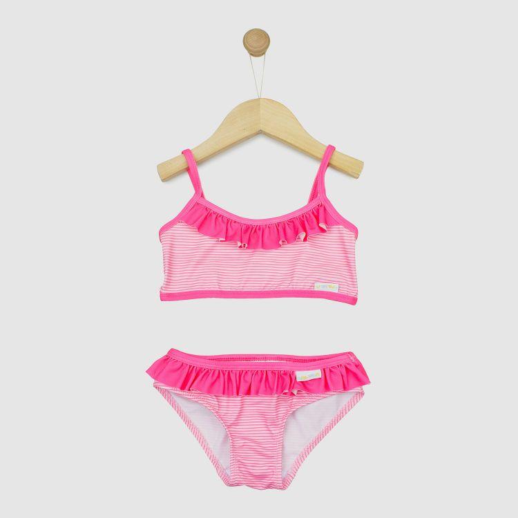 Bikini Stripes-Pink