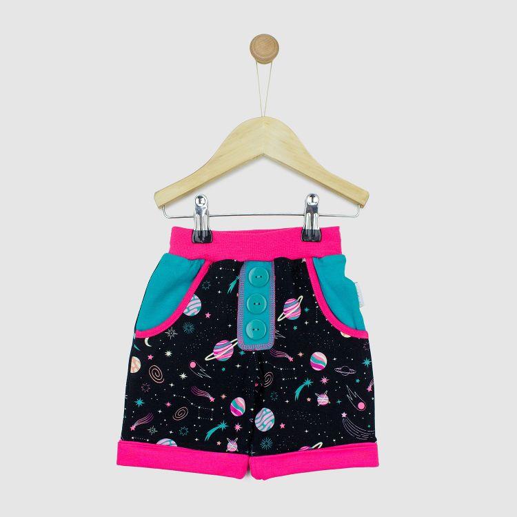 Kids-CoolPocketShorts - SpaceGirl