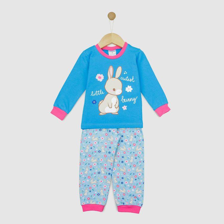 Motiv-Pyjama-Set  HoppingBunnies