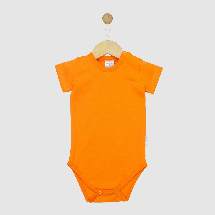 Uni-Kurzarmbody Orange