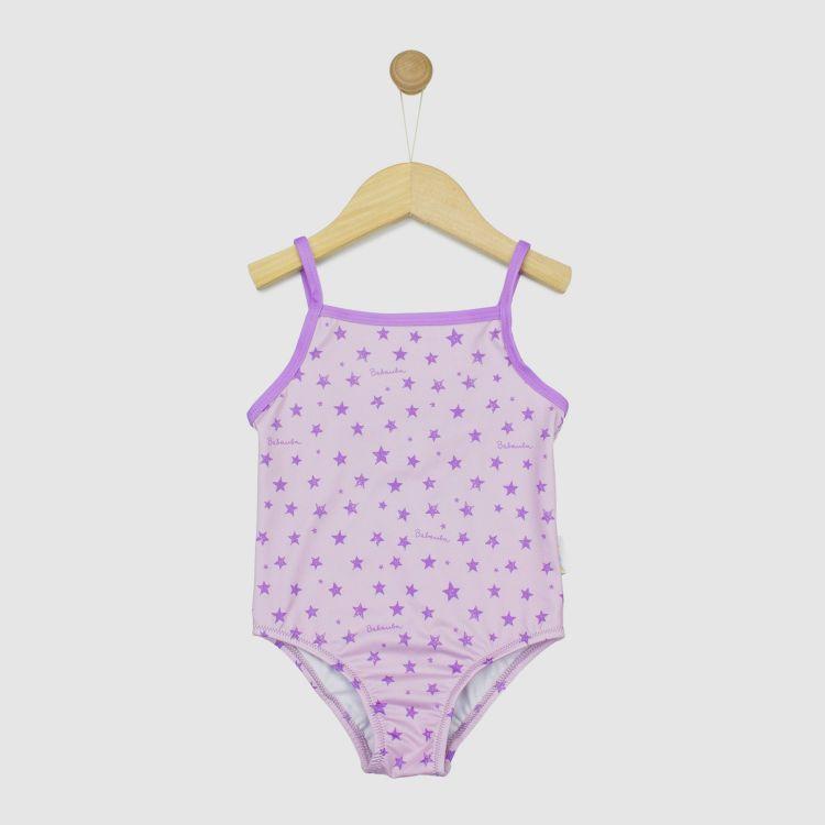 Kids-Badeanzug 2.0 - NightSky-Pink