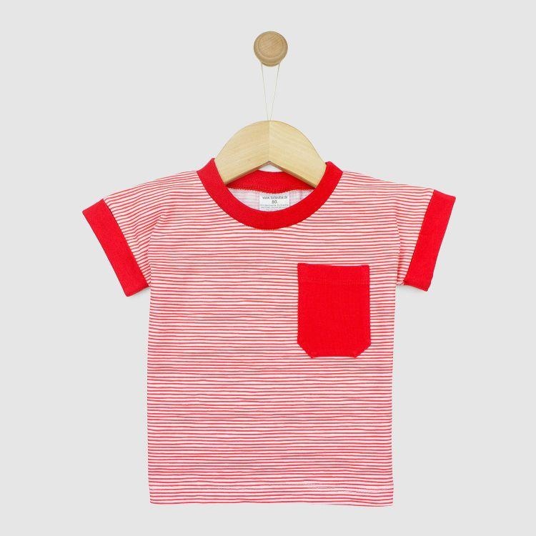 BabaubaT2 Stripes-RedWhite
