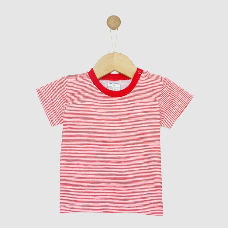 T-Shirt Stripes-RedWhite