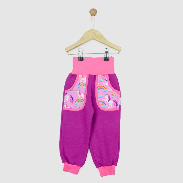 CoolPocketPants SparklingUnicorns-BabyrosaEdition