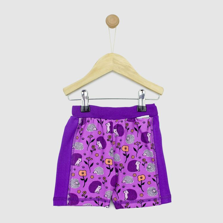 ActionShorts SweetHedgehogs-Purple