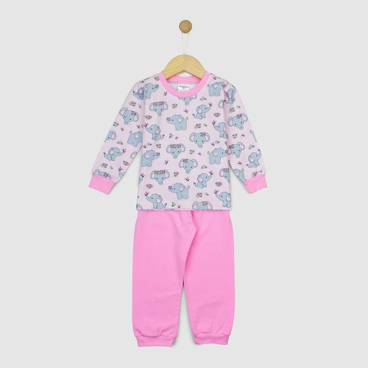 Pyjama-Set CuteFlowerElephant